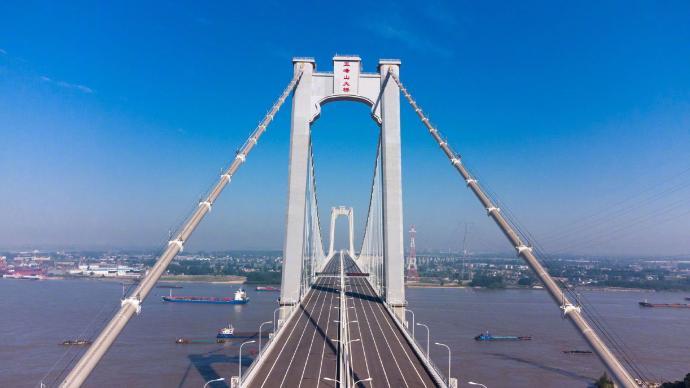 五峰山长江大桥公路层开通,收费标准公布:小客车35元/车次