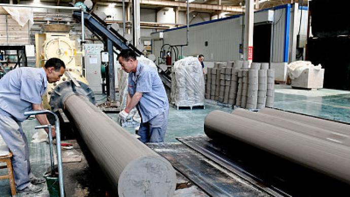 6月份中国制造业PMI为50.9%:原材料价格涨势减缓