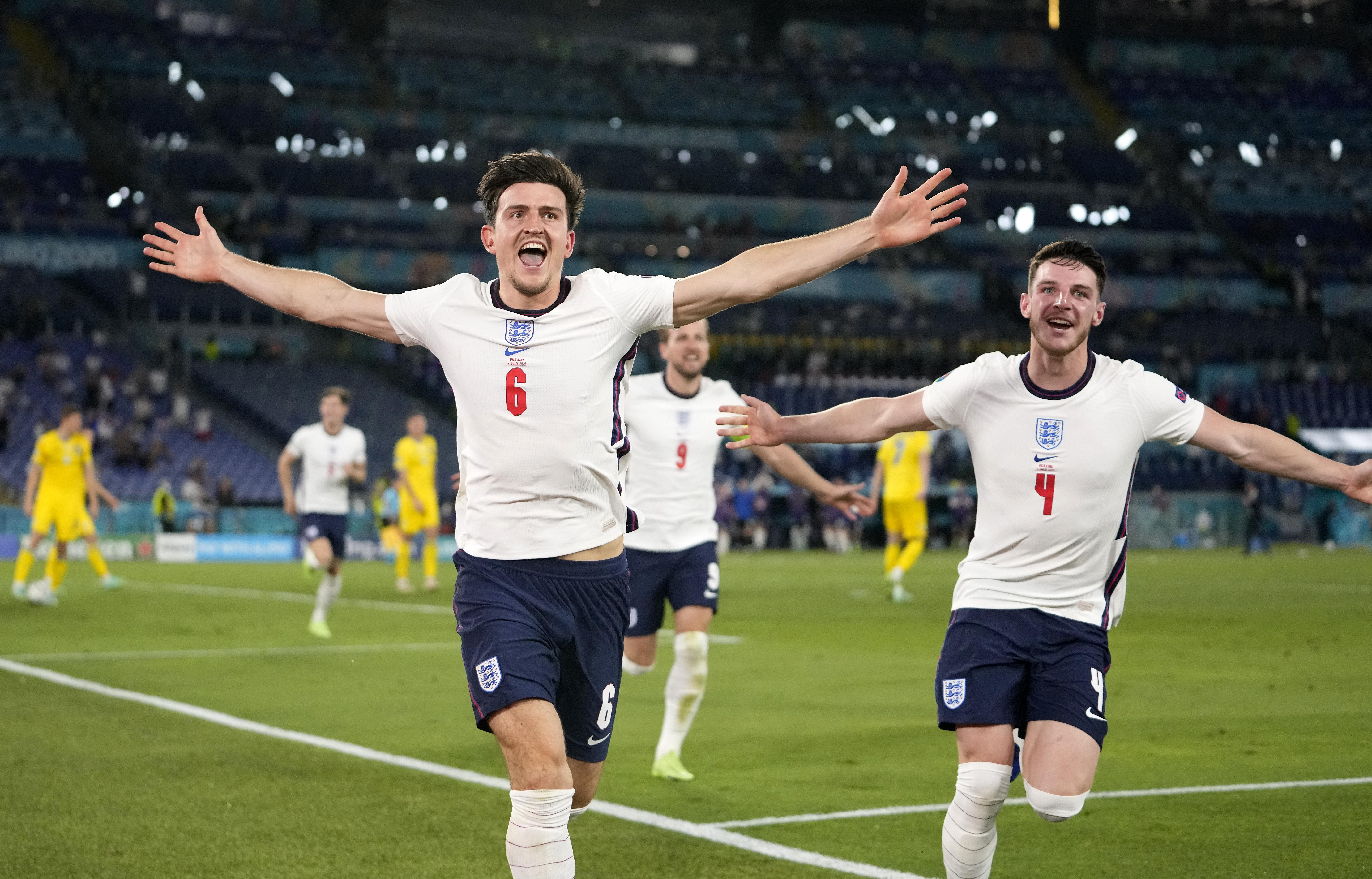 英格兰队还在创造历史。