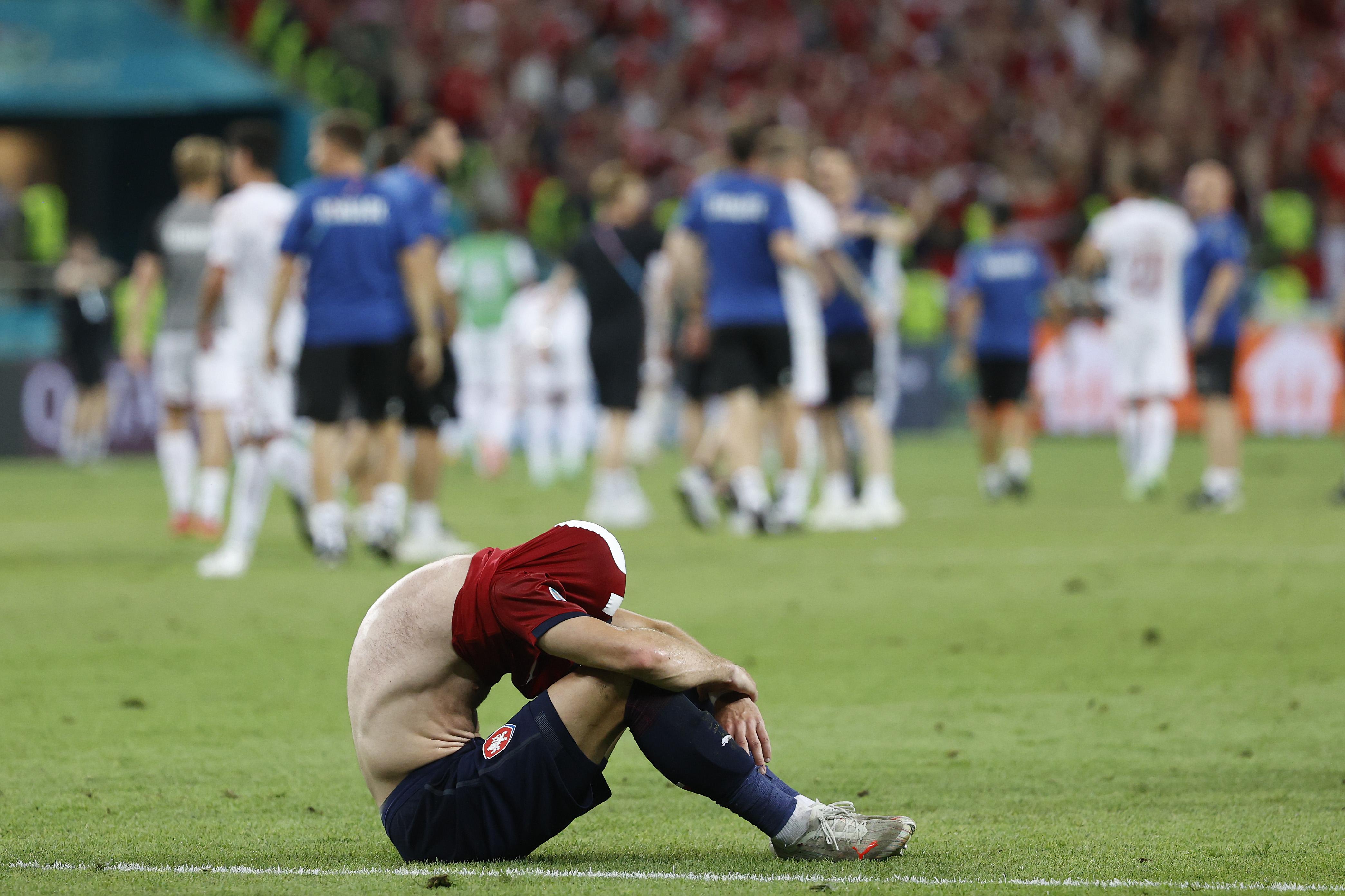 失落的捷克球员。