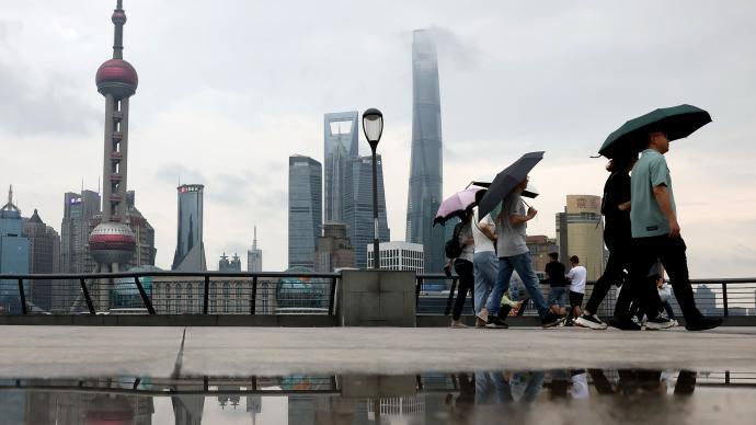 上海今天或冲上34℃,本周最高可达36℃午后多雷阵雨