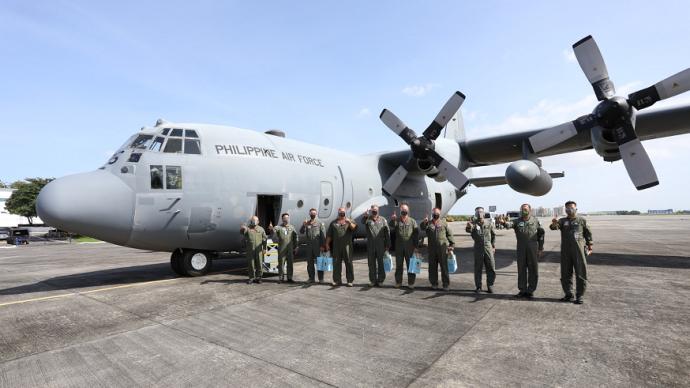 """菲律宾坠毁军机或购自美国:""""整修""""过,年初刚交付"""