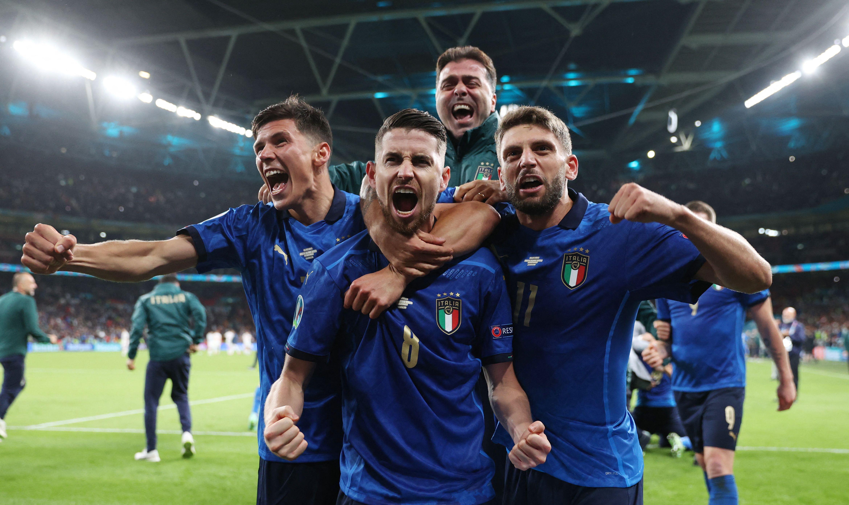 決賽,意大利來了。