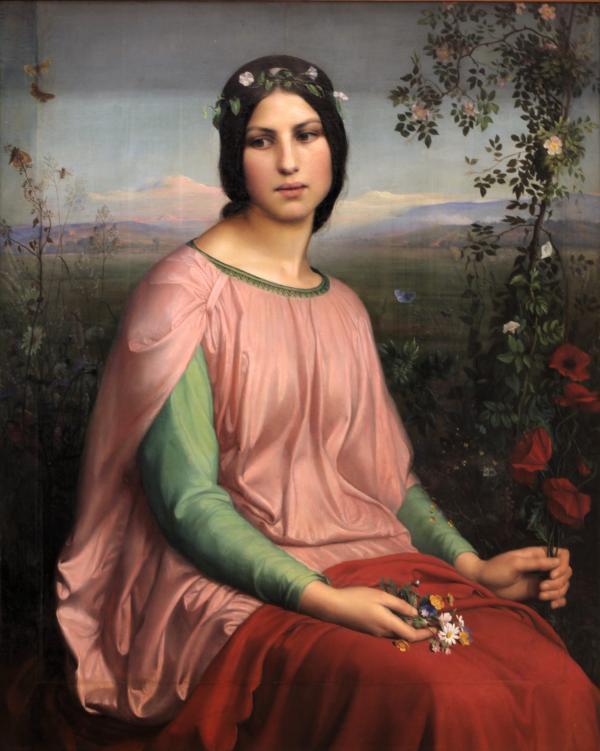 让莫:《田野之花》(1845)