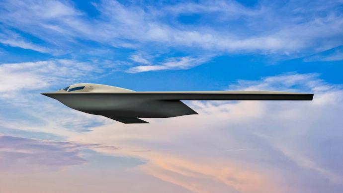 美軍公布B-21隱身轟炸機最新圖片,計劃明年首飛