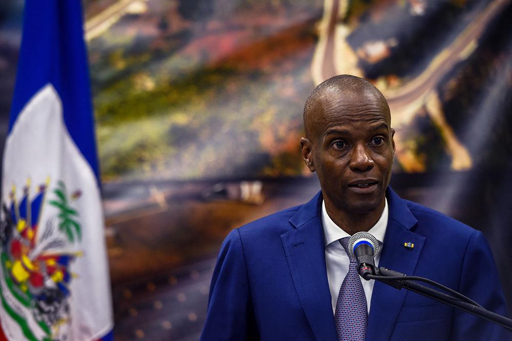 海地總統莫伊茲? 人民視覺 資料圖