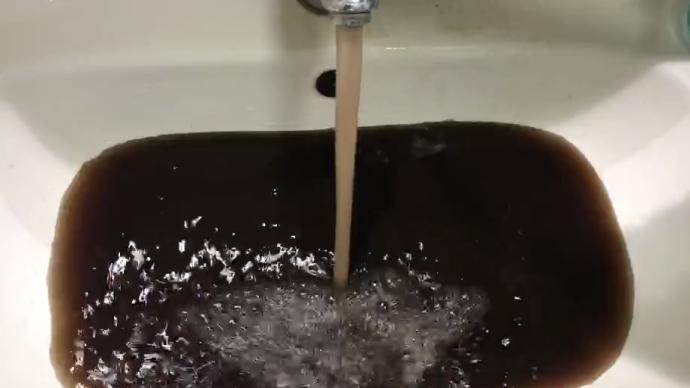 """鞏義一小區一度""""自來水像醬油"""":水質已恢復,原因還在查"""
