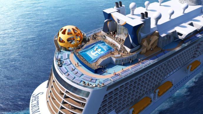 皇家加勒比旗下邮轮中国首航:香港将开放海上无目的地游航线