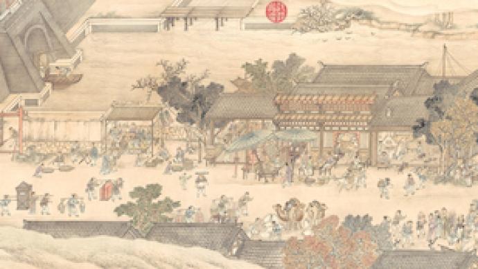 南京德基美术馆今秋重开,百倍放大呈现清代《金陵图》
