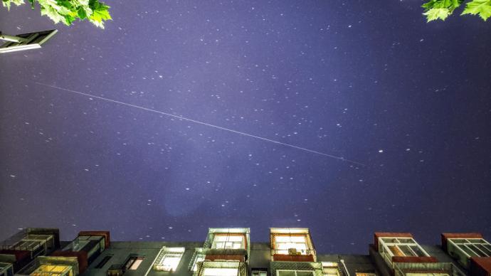 多圖|天和核心艙過境,天文愛好者爭相觀測、拍攝