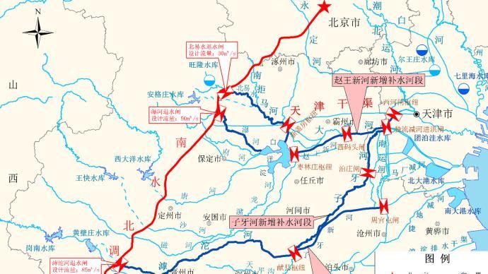 今夏滹沱河、大清河、白洋淀生態補水達2.21億立方米