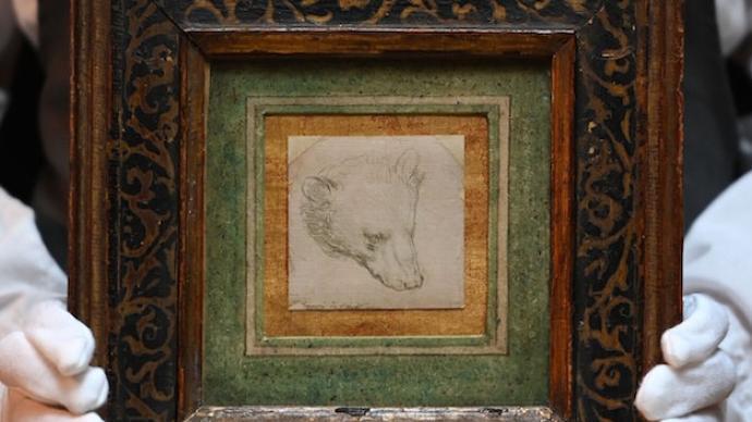 达·芬奇微型素描《熊的头部》拍出1220万美元