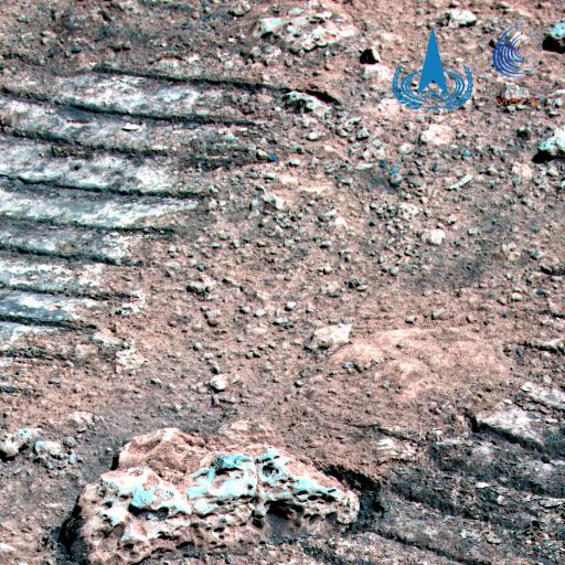 图1 火星岩石