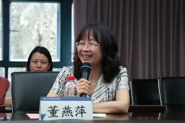 董燕萍。浙江大学外国语言文化与国际交流学院网站 图