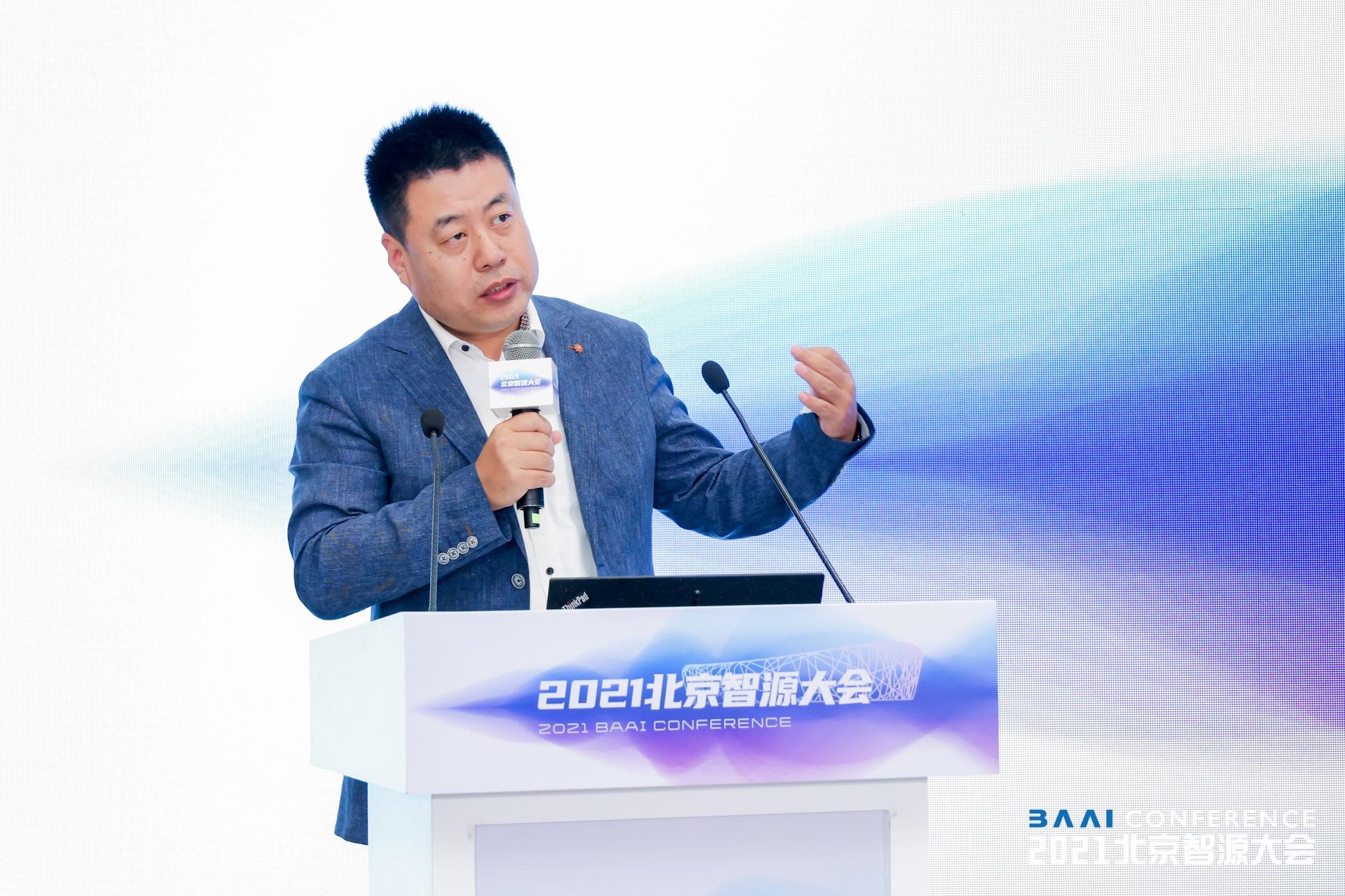 智谱CEO王绍兰。本文图片均为受访者提供