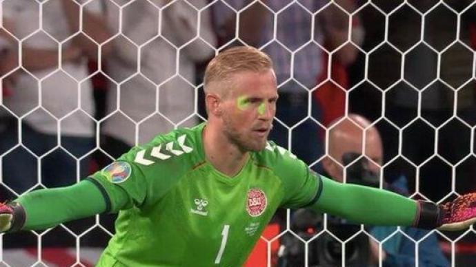 歐洲杯半決賽縱容球迷使用激光筆等行為,英足總被罰3萬歐元