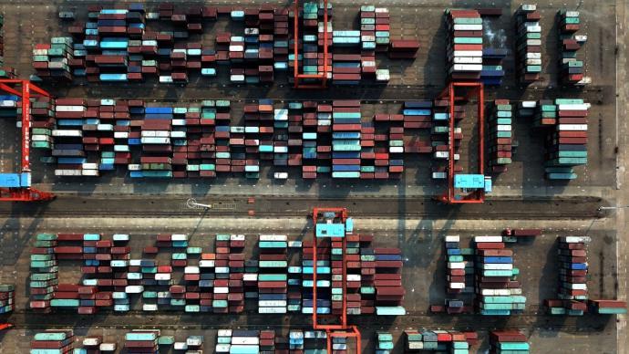 海关总署:我国外贸进出口总值连续13个月保持同比正增长