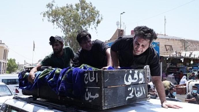 伊拉克新冠定点医院火灾死亡人数升至92人