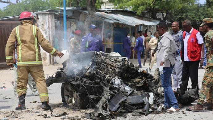 早安·世界 索馬里首都發生自殺式汽車炸彈襲擊