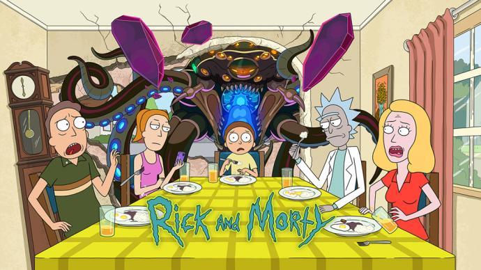《瑞克和莫蒂》第五季:科学狂人的家庭喜剧,豆瓣高达9.8