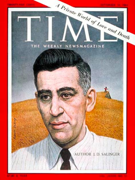塞林格登上《时代》杂志封面