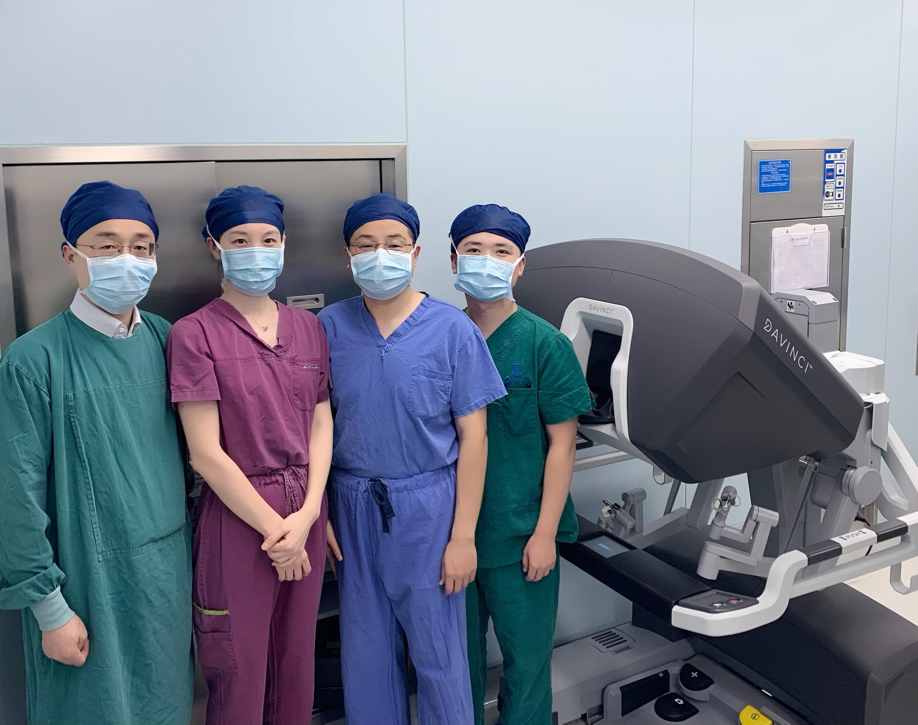 上海市第一人民医院普外临床中心胃肠外科主任黄陈团队部分成员。