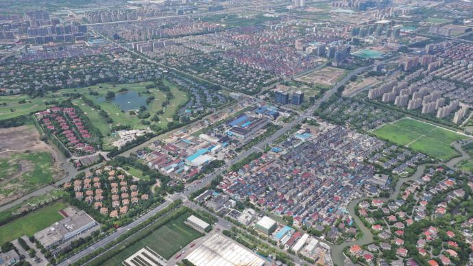 徐泾老集镇城中村改造探索:百分百原址回迁,马路对面是新家