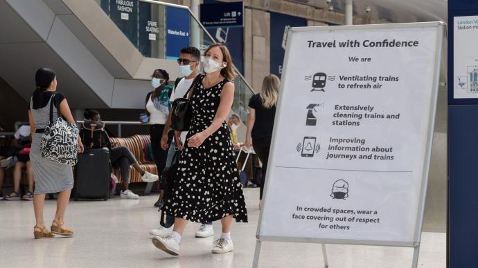 美国发布赴英旅行最高级别警告