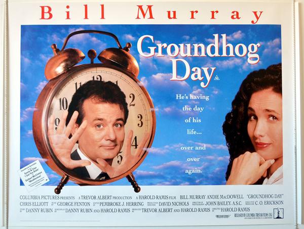 《土拨鼠之日》海报
