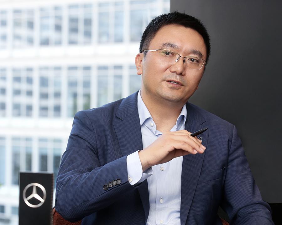 北京梅赛德斯-奔驰销售服务有限公司高级执行副总裁张焱