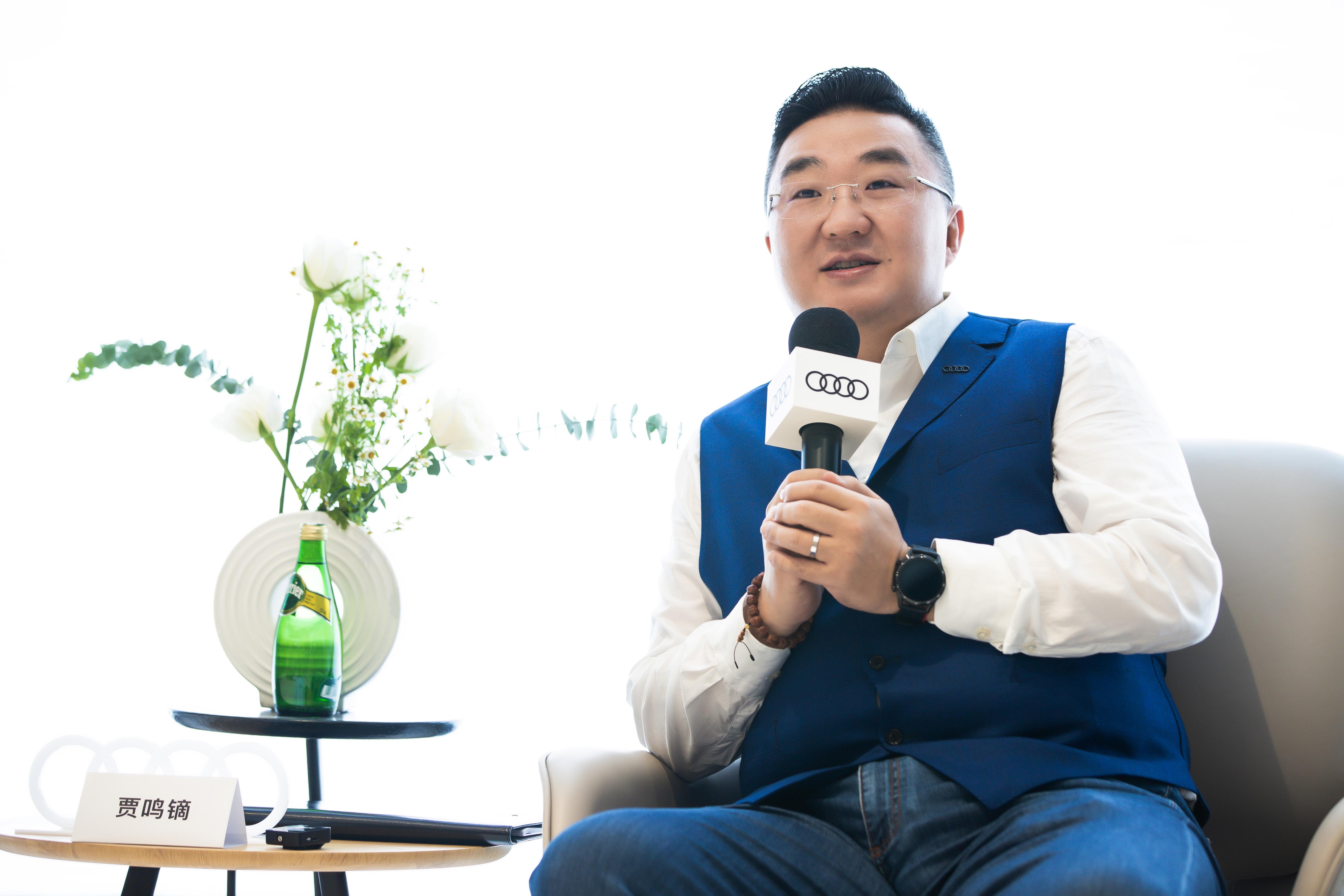 上汽奥迪营销事业总经理贾鸣镝