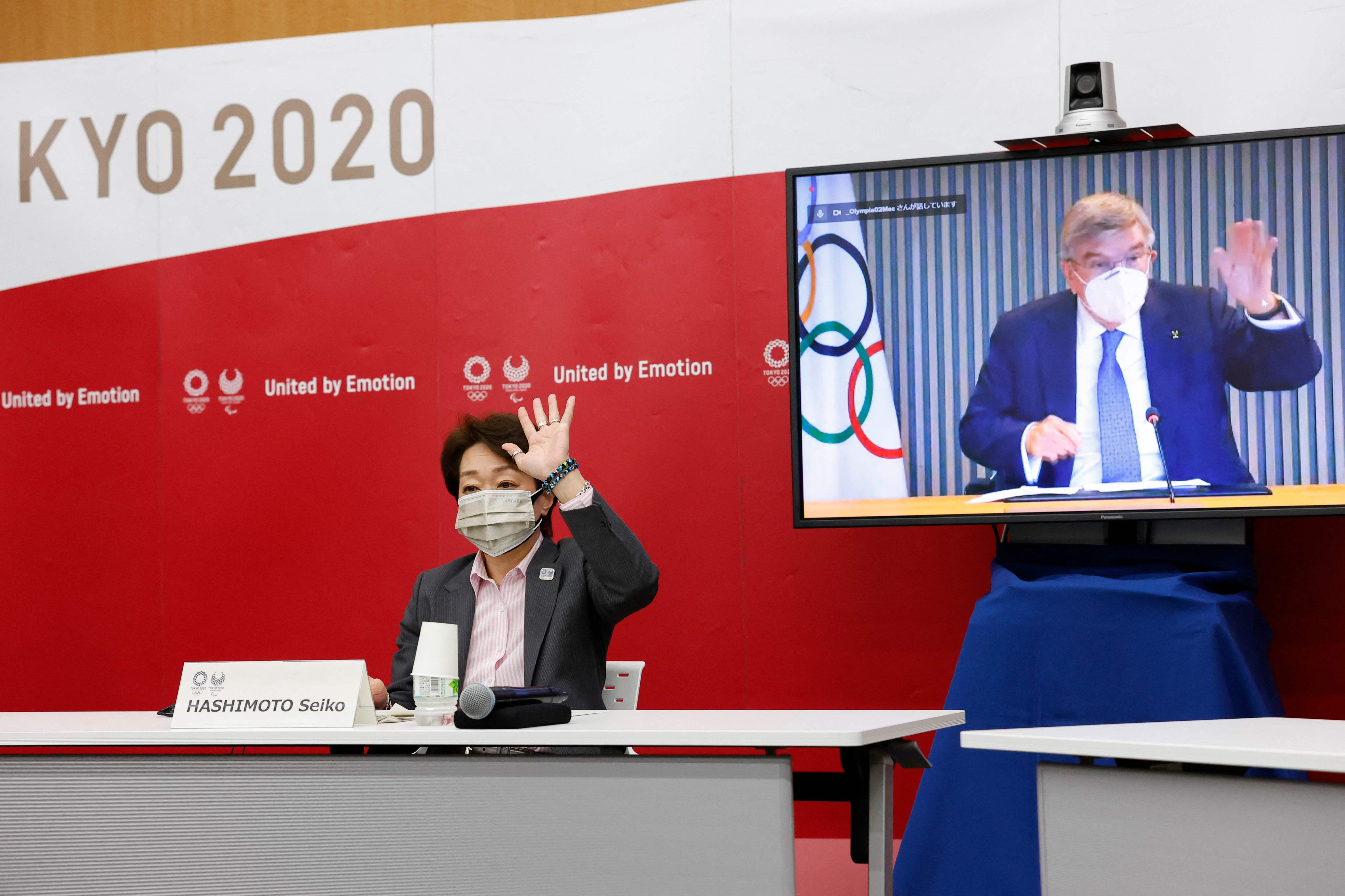 东京奥组委主席桥本圣子。