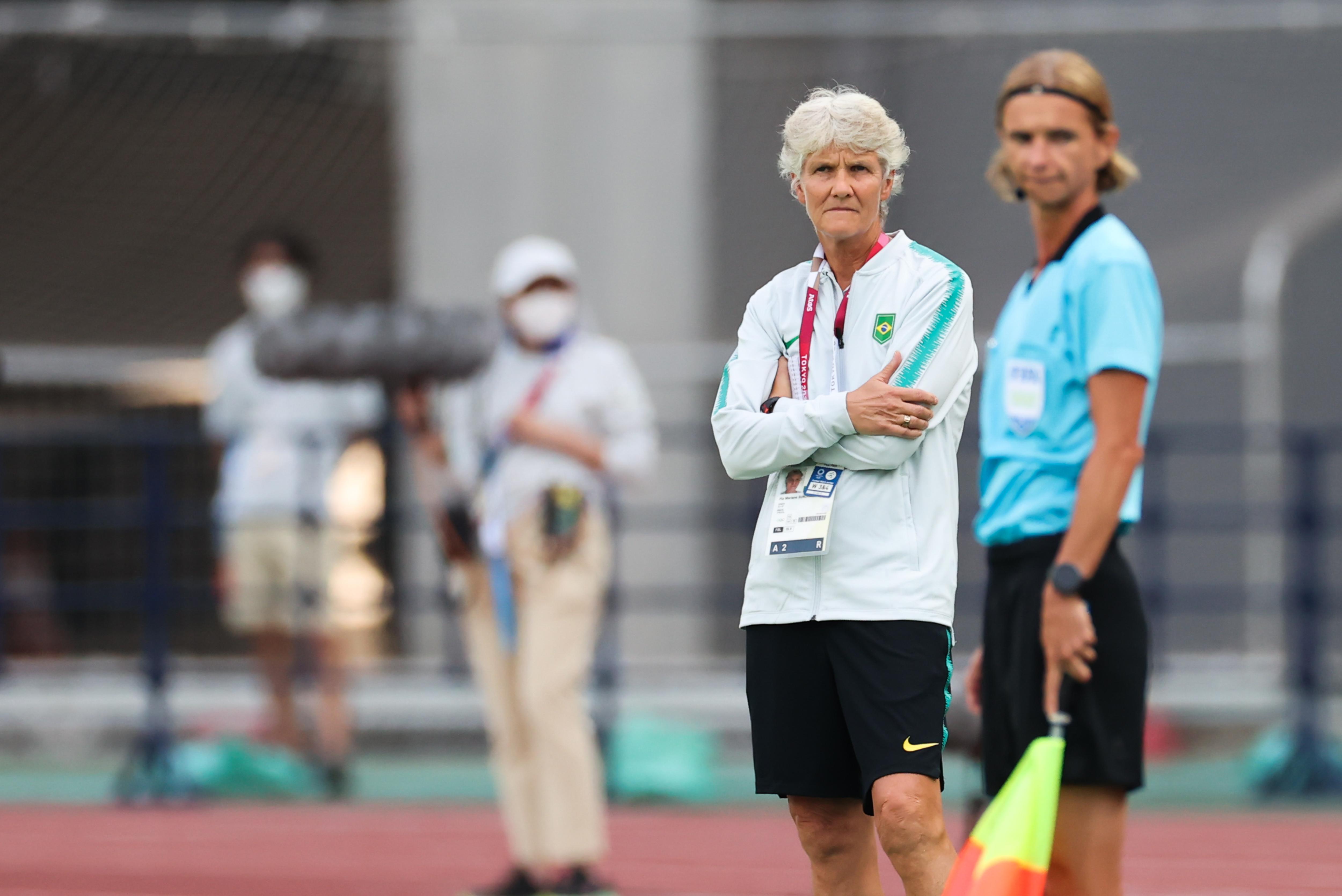 巴西女足主帅皮娅曾执教中国女足。