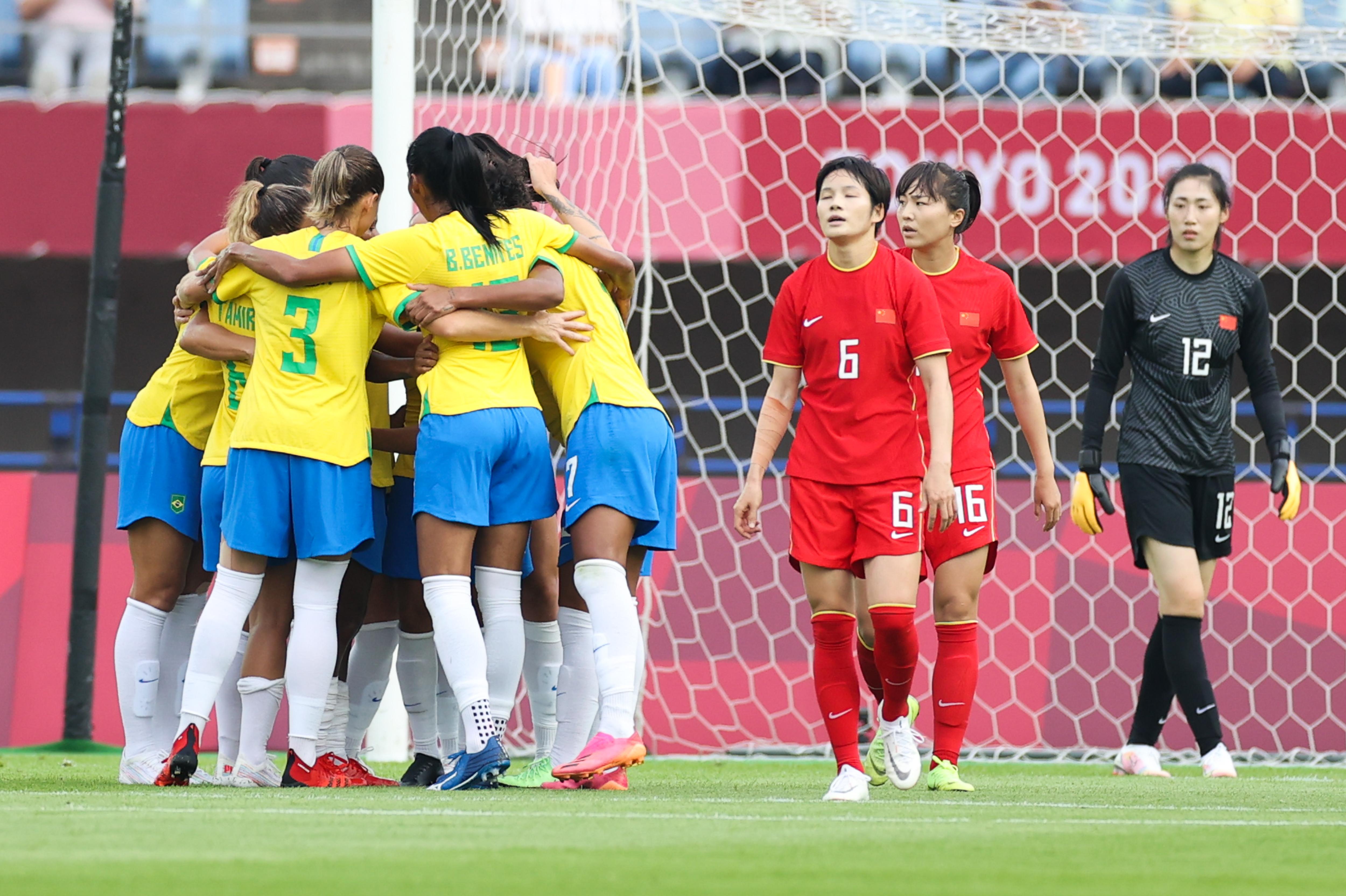 巴西女足的实力还是高出一筹。
