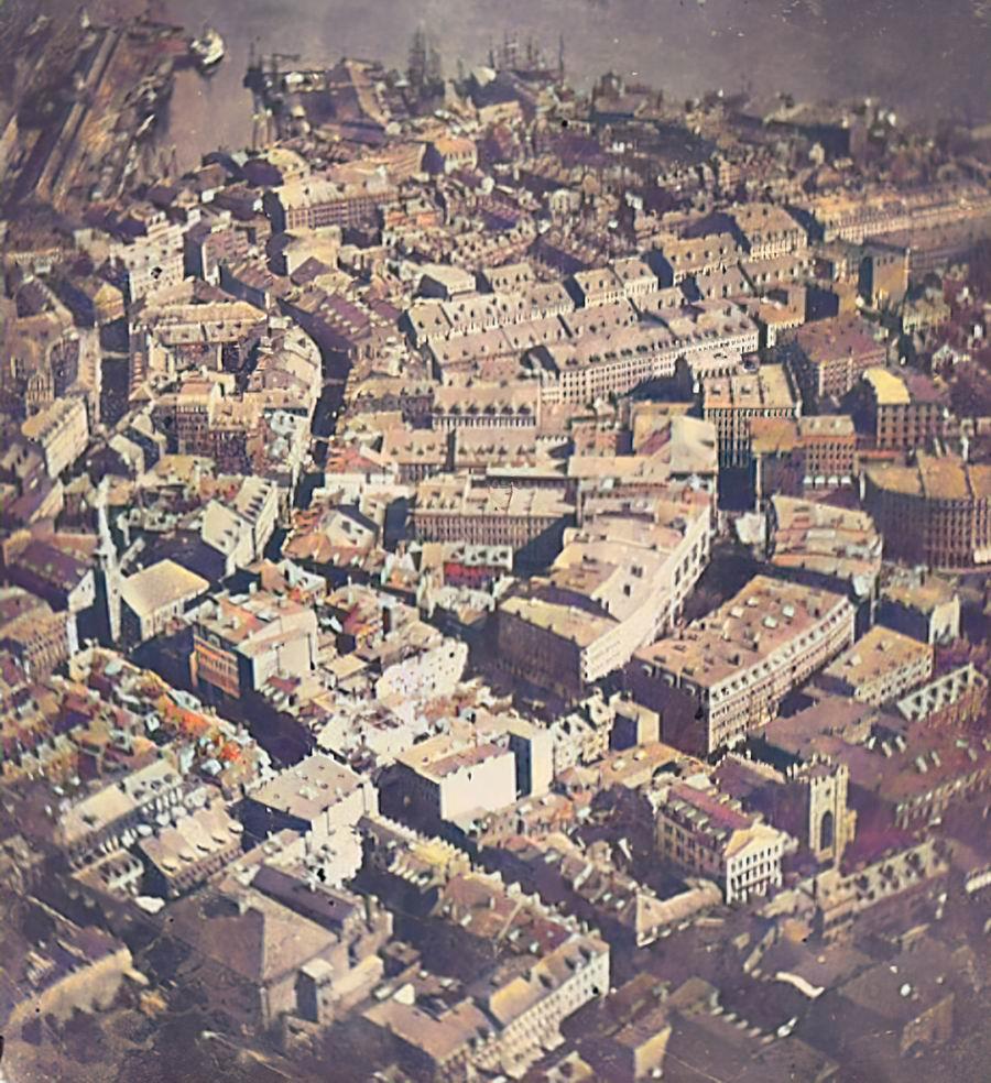 1860年的波士顿