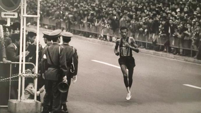 回望|雷蒙・德帕东镜头下的1964年东京奥运会和日本
