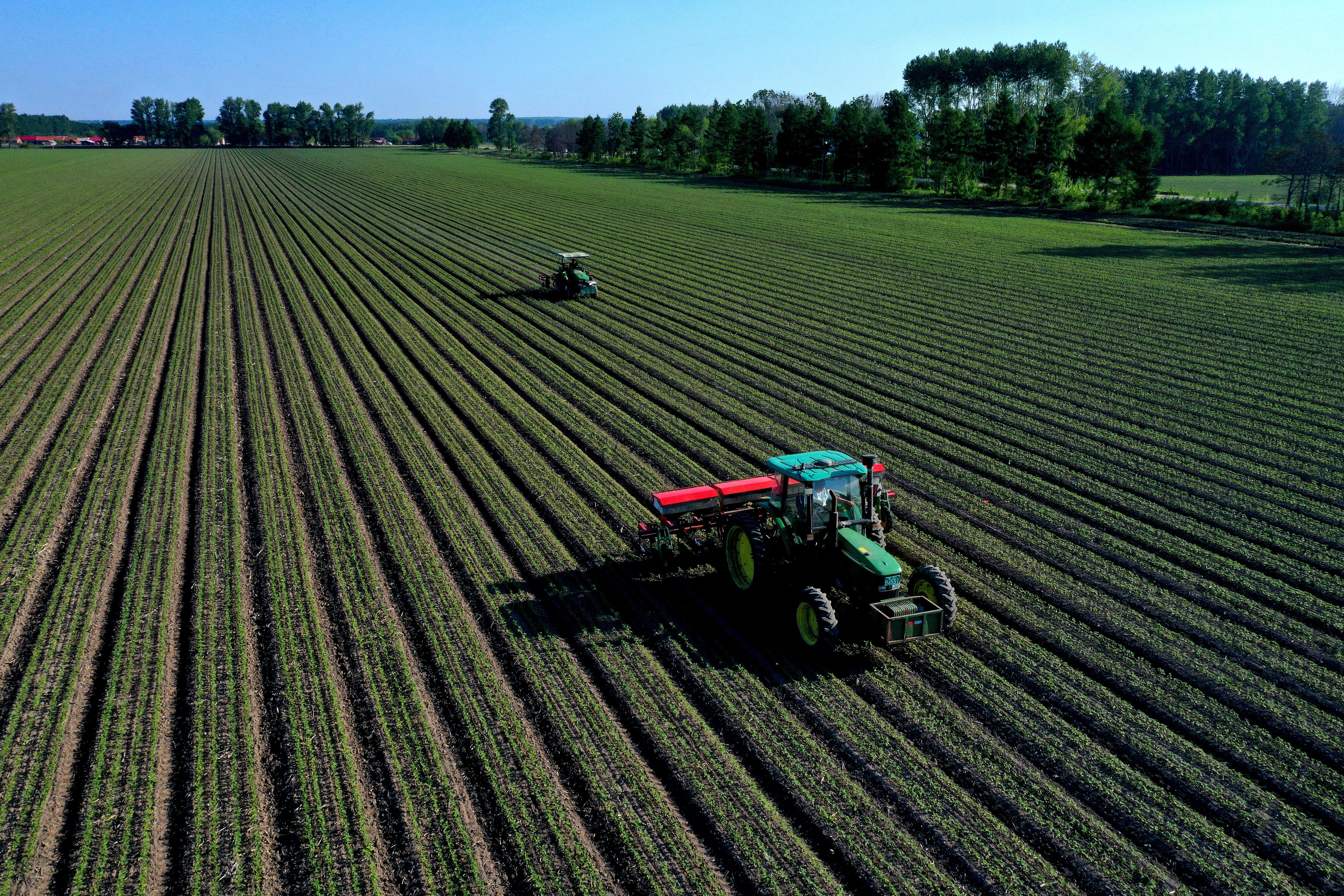 北大荒集团八五二农场有限公司夏管现场