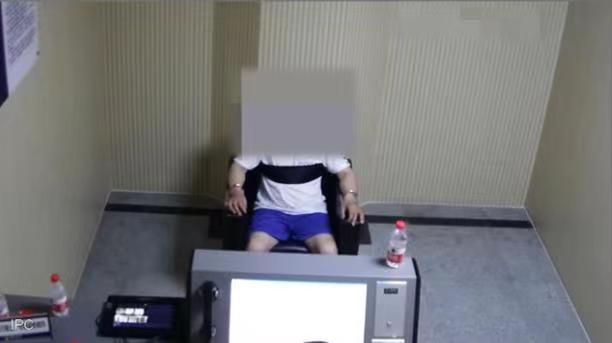 萧山警方提审徐某某 本文图片均为萧山公安提供