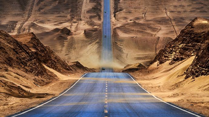 开着房车来一次格尔木环线游,看遍大西北沙漠草原与盐湖