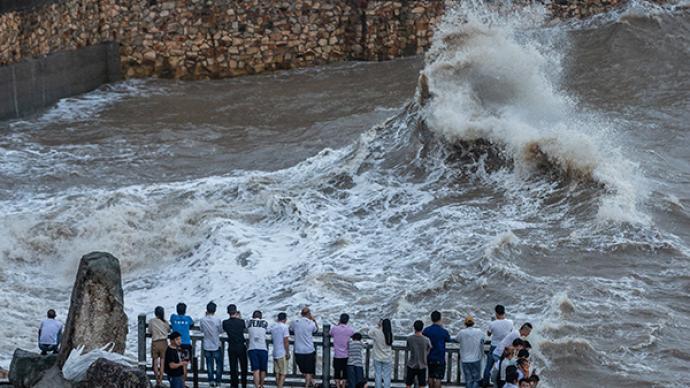 """""""烟花""""或成7月登浙江最强台风,华东台风雨将下近一周"""