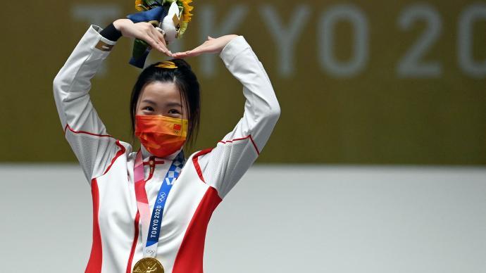 马上评|奥运转播镜头特写了中国00后的这两个细节