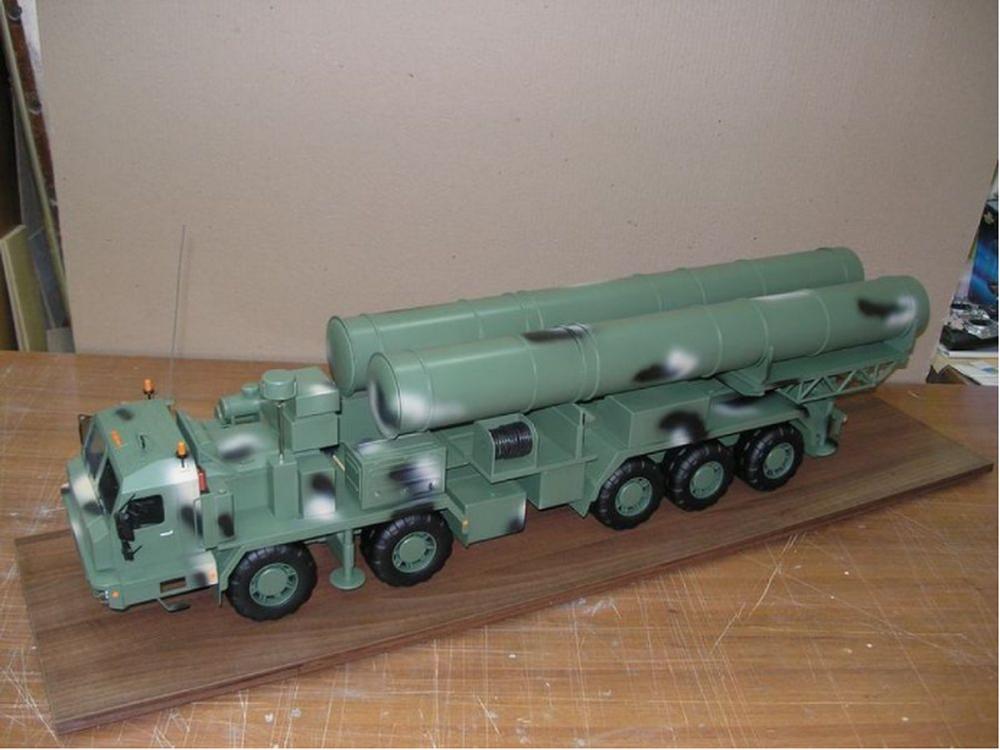 S-500防空导弹系统将在今年完成测试工作。