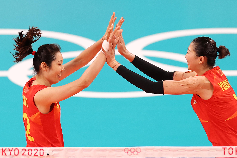 朱婷和袁心玥。