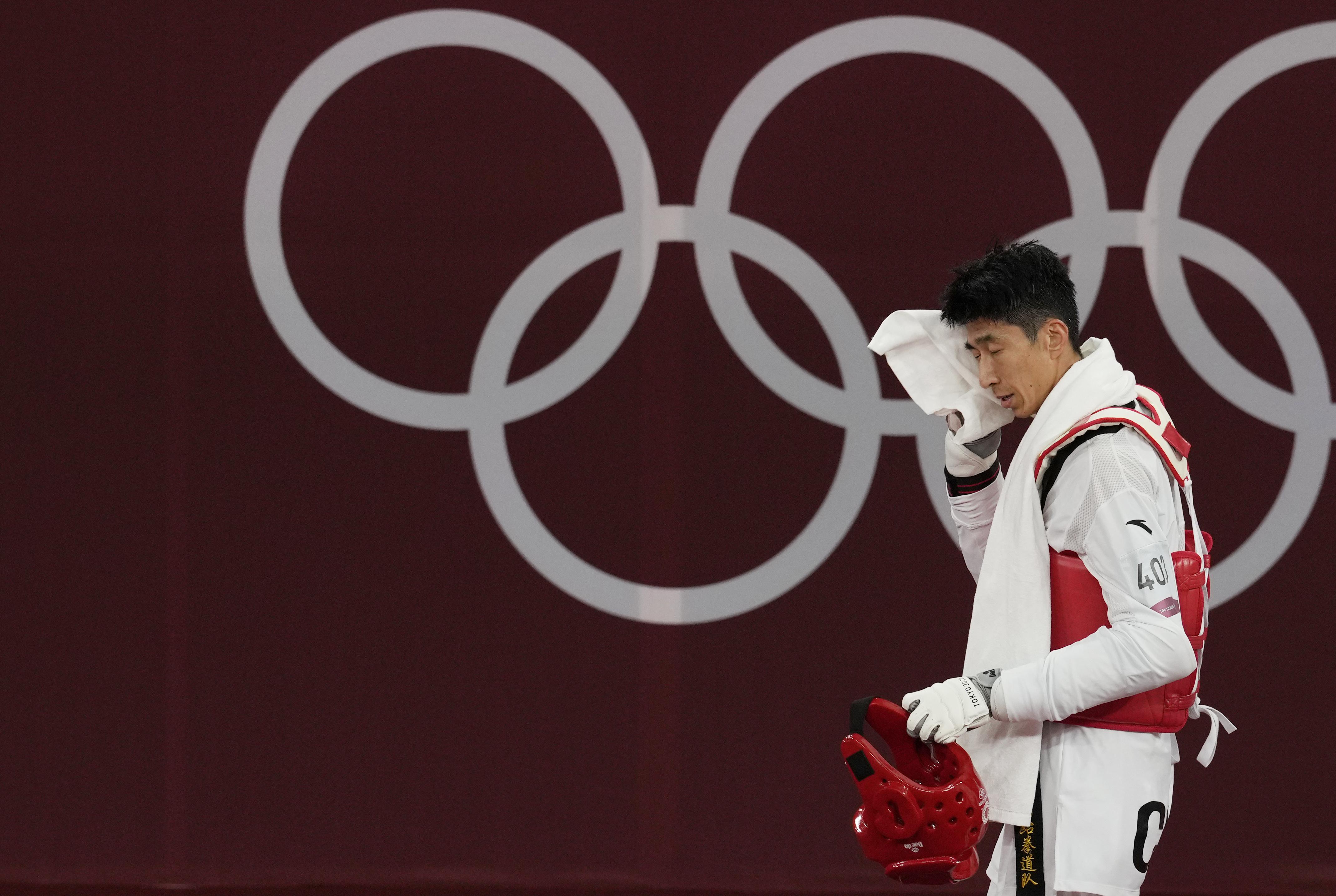 赵帅遗憾未能拿下金牌。