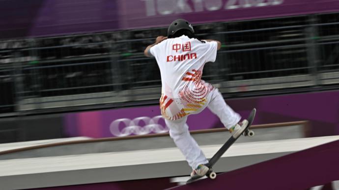 太飒了!16岁曾文蕙奥运滑板第6名:反复练,形成肌肉记忆
