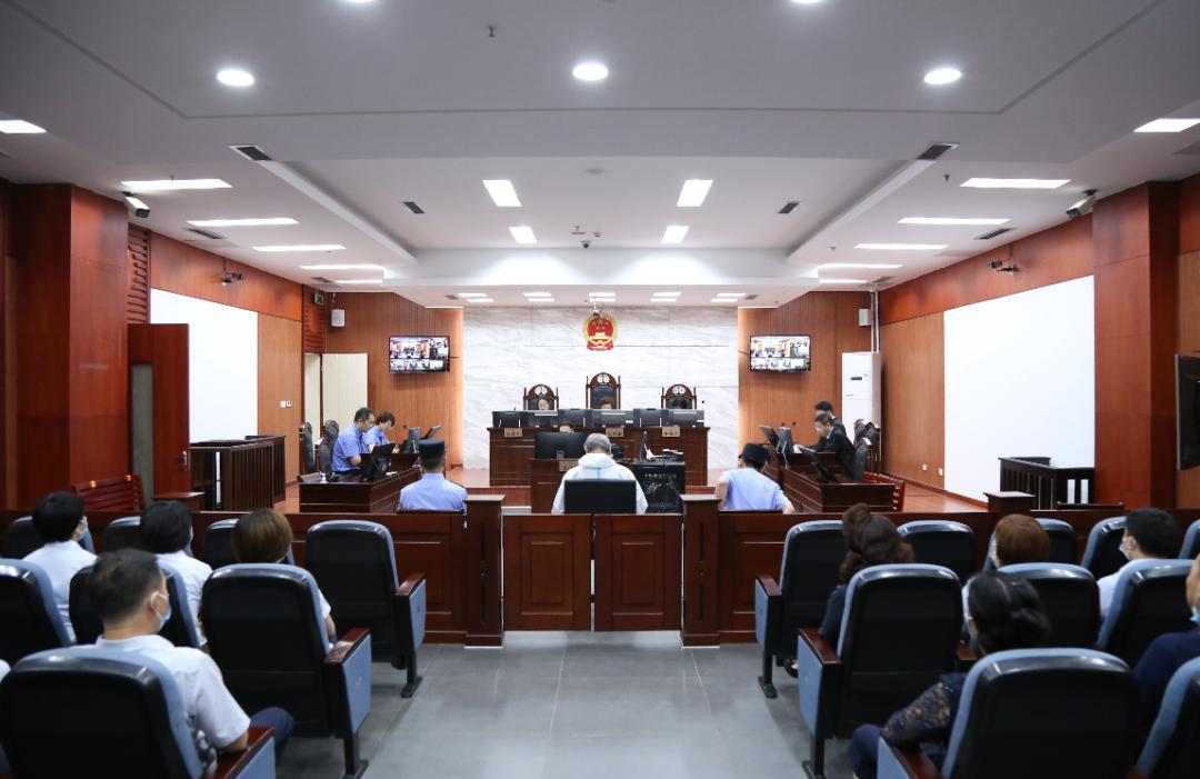 庭审现场呼和浩特市中级人民法院微信公众号 图