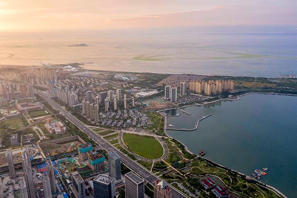 2021年7月6日,山东青岛西海岸新区。人民视觉 资料图