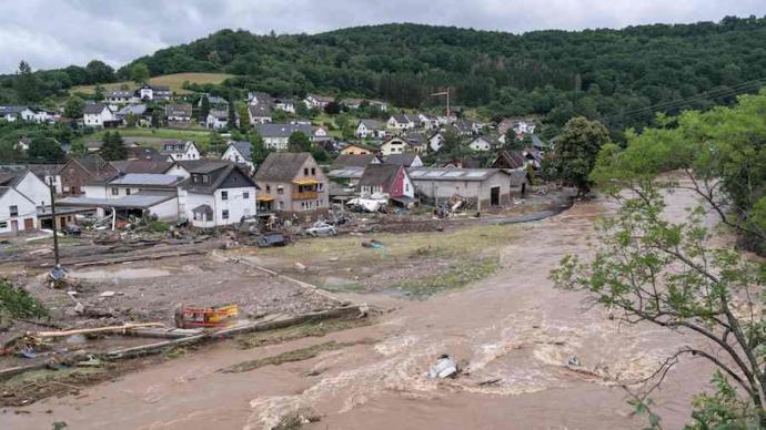 德国洪灾:当预测中的灾难发生,政治家会全力阻止气候危机吗