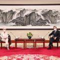 王毅会见美国常务副国务卿舍曼