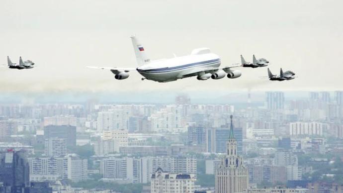 """俄罗斯正研制新一代""""末日飞机"""":核战争情况下用于指导部队"""